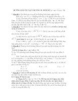 Hướng dẫn ôn tập chương hàm số ĐS 9 HKI ( Dành cho học sinh)
