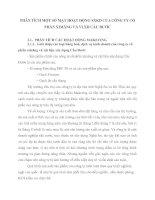 PHÂN TÍCH MỘT SỐ MẶT HOẠT ĐỘNG SXKD CỦA CÔNG TY CỔ PHẦN XIMĂNG VÀ VLXD CẦU ĐƯỚC