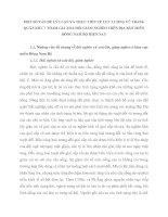 MỘT SỐ VẤN ĐỀ LÝ LUẬN VÀ THỰC TIỄN VỀ LỰC LƯỢNG VŨ TRANG QUÂN KHU 7 THAM GIA XOÁ ĐÓI GIẢM NGHÈO TRÊN ĐỊA BÀN MIỀN ĐÔNG NAM BỘ HIỆN NAY