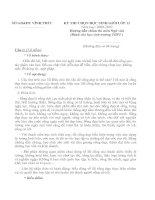 Đáp án đề thi HSG Vĩnh Phúc