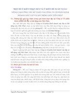 MỘT SỐ Ý KIẾN NHẬN XÉT VÀ Ý KIẾN ĐỀ XUẤT NHẰM NÂNG CAO CÔNG TÁC KẾ TOÁN TẠI CÔNG TY CỔ PHẦN KINH DOANH XÂY LẮP VÀ BẤT ĐỘNG SẢN TIẾN PHÁT