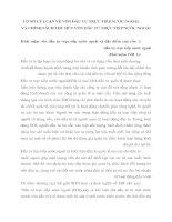 CƠ SỞ LÝ LUẬN VỀ VỐN ĐẦU TƯ TRỰC TIẾP NƯỚC NGOÀI VÀ CHÍNH SÁCH THU HÚT VỐN ĐẦU TƯ TRỰC TIẾP NƯỚC NGOÀI