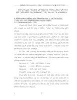 THỰC TRẠNG TỔ CHỨC KẾ TOÁN CHI PHÍ SẢN XUẤT VÀ TÍNH GIÁ THÀNH SẢN PHẨM Ở CÔNG TY SỨ THANH TRÌ VGLACERA