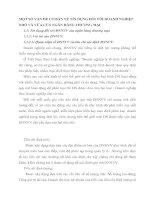 MỘT SỐ VẤN ĐỀ CƠ BẢN VỀ TÍN DỤNG ĐỐI VỚI DOANH NGHIỆP NHỎ VÀ VỪA CỦA NGÂN HÀNG THƯƠNG MẠI