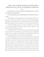 PHẦN I  MỘT SỐ VẤN ĐỀ CƠ BẢN VỀ BẢO HIỂM TRÁCH NHIỆM DÂN SỰ CỦA CHỦ XE CƠ GIỚI ĐỐI VỚI NGƯỜI THỨ BA