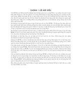 Lời mở đầu của tài liệu java SCRIPT