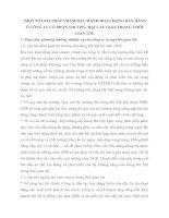MỘT SỐ GIẢI PHÁP NHẰM ĐẨY MẠNH HOẠT ĐỘNG BÁN HÀNG Ở CÔNG TY CỔ PHẦN THƯƠNG MẠI CẦU GIẤY TRONG THỜI GIAN TỚI