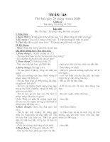 giáo án lớp 1 tuần 32-36 chuẩn