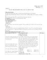 Giáo án Ngữ văn 7 tuần 13-18