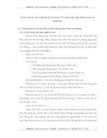 PHÂN TÍCH TÀI CHÍNH DỰ ÁN ĐẦU TƯ KHU ĐÔ THỊ MỚI NAM AN KHÁNH