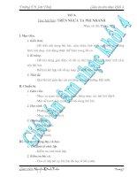 Giáo Án Âm Nhạc Lớp 4 - Tiết 8