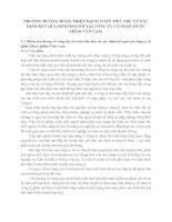 PHƯƠNG HƯỚNG HOÀN THIỆN HẠCH TOÁN TIÊU THỤ VÀ XÁC ĐỊNH KẾT QUẢ KINH DOANH TẠI CÔNG TY CỔ PHẦN DƯỢC PHẨM VĂN LAM