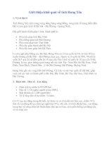 Tài liệu dạy bài: Địa lí địa phương: Hưng Yên- Quê hương chúng ta
