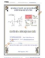 Tài liệu ôn thi đại học môn vật lý: Chuyên đề 4 - Dòng điện xoay chiều