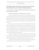 MỘT SỐ BIỆN PHÁP NHẰM THÚC ĐẨY HOẠT ĐỘNG TIÊU THỤ SẢN PHẨM Ở CÔNG TY CP TM DV TỔNG HỢP VIỆT NGA