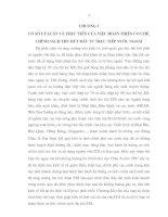 CƠ SỞ LÝ LUẬN VÀ THỰC TIỄN CỦA VIỆC HOÀN THIỆN CƠ CHẾ, CHÍNH SÁCH THU HÚT ĐẦU TƯ TRỰC TIẾP NƯỚC NGOÀI