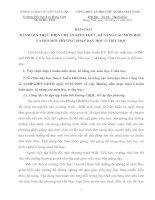 BÁO CÁO  ĐÁNH GIÁ TH]CJ HIỆN CHUẨN KIẾN THỨC, KĨ NĂNG CÁC MÔN HỌC VÀ ĐỔI MỚI PHƯƠNG PHÁP DẠY HỌC Ở TIỂU HỌC