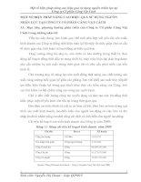 MỘT SỐ BIỆN PHÁP NÂNG CAO HIỆU QUẢ SỬ DỤNG NGUỒN NHÂN LỰC TẠI CÔNG TY CỔ PHẦN CẢNG VẬT CÁCH