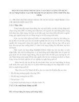 MỘT SỐ GIẢI PHÁP NHẰM NÂNG CAO CHẤT LƯỢNG TÍN DỤNG XUẤT NHẬP KHẨU TẠI CHI NHÁNH NGÂN HÀNG CÔNG THƯƠNG BA ĐÌNH