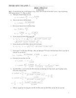 Chuyên đề bài tập vật lý phổ thông