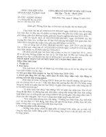CV so 2344 SGDDT-GDMN ve viec huong dan bao cao so ket hoc ki I nam hoc 2010-2011.doc