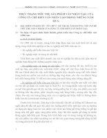 THỰC TRẠNG TIÊU THỤ SẢN PHẨM VÁN NHÂN TẠO  CỦA CÔNG TY CHẾ BIẾN VÁN NHÂN TẠO TRONG NHỮNG NĂM QUA