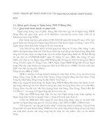 THỰC TRẠNG KẾ TOÁN CHO VAY TẠI SGD NGÂN HÀNG TMCP HÀNG HẢI