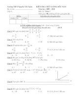 Bộ đề kiểm tra toán 6