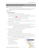 Bài thực hành tin học
