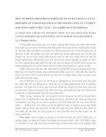 MỘT SỐ PHƯƠNG PHÁP HOÀN THIỆN KẾ TOÁN BÁN HÀNG VÀ XÁC ĐỊNH KẾT QUẢ KINH DOANH TẠI CHI NHÁNH CÔNG TY CỔ PHẦN XNK TỔNG HỢP I VIỆT  NAM – XÍ NGHIỆP MAY HẢI PHÒNG