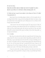 PHƯƠNG HƯỚNG HOÀN THIỆN KẾ TOÁN NGHIỆP VỤ BÁN HÀNG TẠI CÔNG TY CỔ PHẦN CÔNG NGHỆ QUỐC TẾ