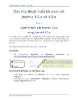 Thủ Thuật Thiết Kế Web Với Joomla 1.0x và 1.5x part 3