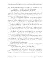 MỘT SỐ GIẢI PHÁP NHẰM HOÀN THIỆN QUẢN LÝ NHÂN SỰ TẠI CÔNG TY CỔ PHẦN THIẾT BỊ THỰC PHẨM