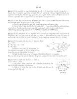 12 đề bồi dưỡng HSG Lý 9