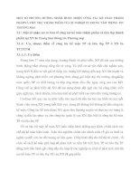 MỘT SỐ PHƯƠNG HƯỚNG NHẰM HOÀN THIỆN CÔNG TÁC KẾ TOÁN THÀNH PHẨMVÀ TIÊU THỤ THÀNH PHẨM CỦA XÍ NGHIỆP IN TRUNG TÂM THÔNG TIN THƯƠNG MẠI