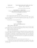 NĐ116/2003/NĐ-CP ngày 10/10/2003 của Chính phủ v/v: