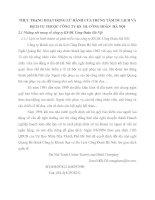 THỰC TRẠNG HOẠT ĐỘNG LỮ HÀNH CỦA TRUNG TÂM DU LỊCH VÀ DỊCH VỤ THUỘC CÔNG TY KS  DL CÔNG ĐOÀN  HÀ NỘI