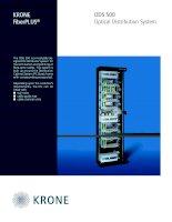 Datasheet - FO - Optical Distribution System - ODS 500