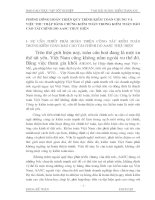 PHƯƠNG HƯỚNG HOÀN THIỆN QUY TRÌNH KIỂM TOÁN CHUNG VÀ VIỆC THU THẬP BẰNG CHỨNG KIỂM TOÁN TRONG KIỂM TOÁN BÁO CÁO TÀI CHÍNH DO AASC THỰC HIỆN