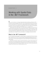 Working with spatial data in the .NET framework