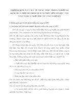 CHƯƠNG II PHÂN TÍCH VÀ ĐÁNH GIÁ THỰC TRẠNG NGHIỆP VỤ KÊNH PHÂN PHỐI SẢN PHẨM DỊCH VỤ PHẦN MỀM TIN HỌC  CỦA CÔNG TY PHÁT TRIỂN ĐẦU TƯ  CÔNG NGHỆ FPT