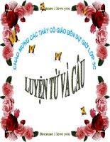 LTVC: Từ ngữ về tổ quốc - dấu phẩy