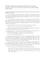 NHỮNG VẤN ĐỀ CHUNG VỀ HOẠT ĐỘNG SẢN XUẤT  KINH DOANH VÀ QUẢN LÝ TẠI CÔNG TY XÂY DỰNG VÀ PHÁT TRIỂN NÔNG THÔN.