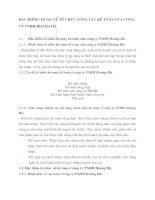 ĐẶC ĐIỂM CHUNG VỀ TỔ CHỨC CÔNG TÁC KẾ TOÁN CỦA CÔNG TY TNHH HOÀNG HÀ