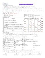 Kiểm tra 1 tiết Số học 6