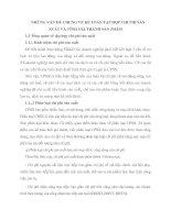 NHỮNG VẤN ĐỀ CHUNG VỀ KẾ TOÁN TẬP HỢP CHI PHÍ SẢN XUẤT VÀ TÍNH GIÁ THÀNH SẢN PHẨM