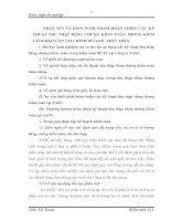 NHẬN XÉT VÀ KIẾN NGHỊ NHẰM HOÀN THIỆN CÁC KỸ THUẬT THU THẬP BẰNG CHỨNG KIỂM TOÁN TRONG KIỂM TÁON BÁO CÁO TÀI CHÍNH DO AASC THỰC HIỆN
