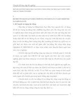 MỘT SỐ GIẢI PHÁP NHẰM NÂNG CAO CHẤT LƯỢNG CÔNG TÁC ĐÀO TẠO VÀ PHÁT TRIỂN NHÂN SỰ TRONG XÍ NGHIỆP