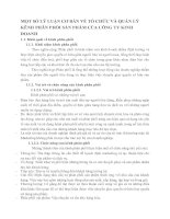 MỘT SỐ LÝ LUẬN CƠ BẢN VỀ TỔ CHỨC VÀ QUẢN LÝ KÊNH PHÂN PHỐI SẢN PHẨM CỦA CÔNG TY KINH DOANH