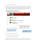 Chuyển PDF sang Word miễn phí